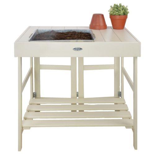 Esschert Design Potting Table White