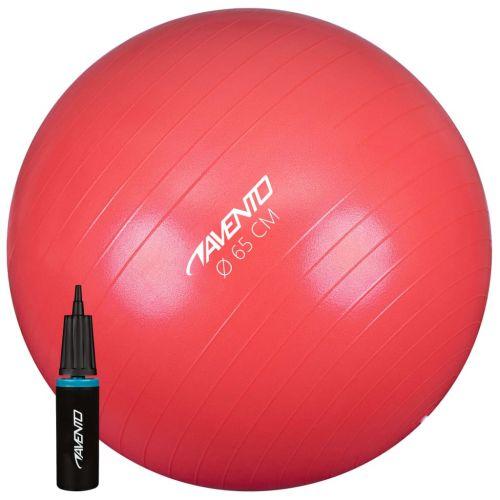 Avento Fitness/Gym Ball + Pump Dia. 65 cm Pink