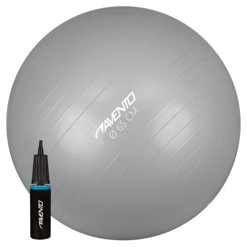 Avento Fitness/Gym Ball + Pump Dia. 65 cm Silver