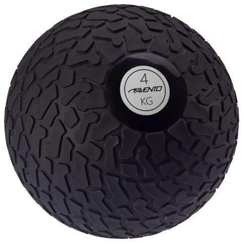 Avento Slam Ball Textured 4 kg Black