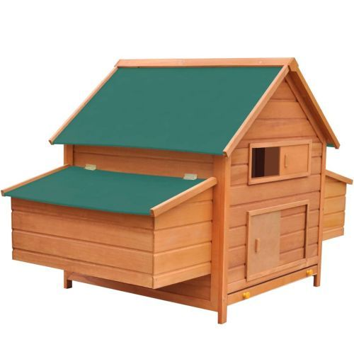 Chicken Coop Wood 157x97x110 cm