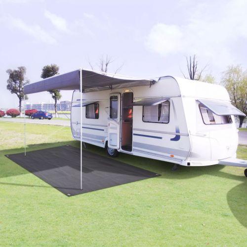 Tent Carpet 250x500 cm Anthracite