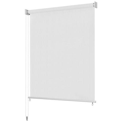 Outdoor Roller Blind 180x140 cm White