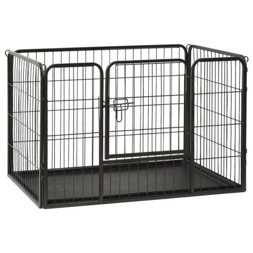 Puppy Playpen Steel 93x63x61cm