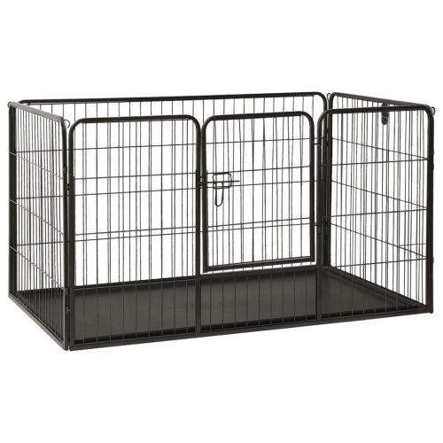 Puppy Playpen Steel 125x80x70 cm