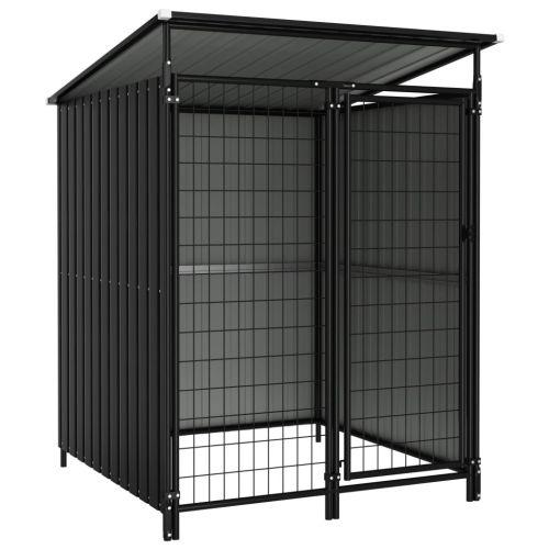 Outdoor Dog Kennel 133x133x164 cm