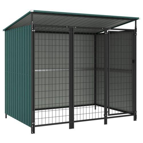 Outdoor Dog Kennel 193x133x164 cm