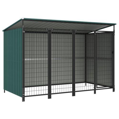 Outdoor Dog Kennel 253x133x164 cm