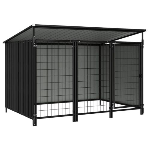 Outdoor Dog Kennel 193x133x116 cm