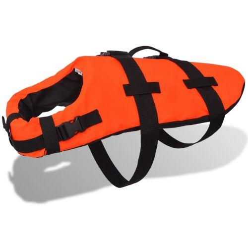Dog Rescue Vest S Orange