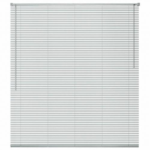 Window Blinds Aluminium 80x220 cm Silver