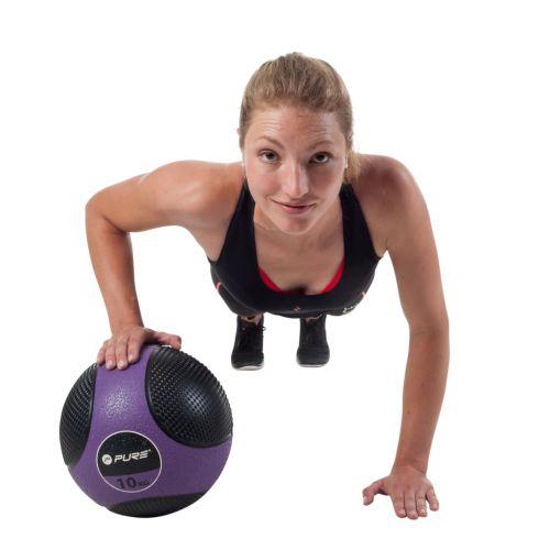 Pure2Improve Medicine Ball 10 kg Purple