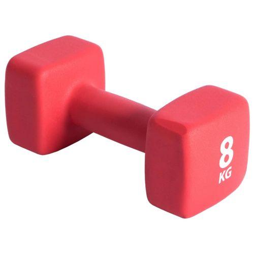 Pure2Improve Dumbbell 8 kg Neoprene Red