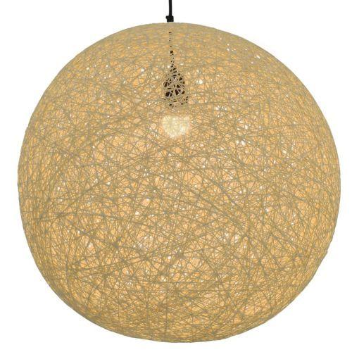 Hanging Lamp Cream Sphere 55 cm E27