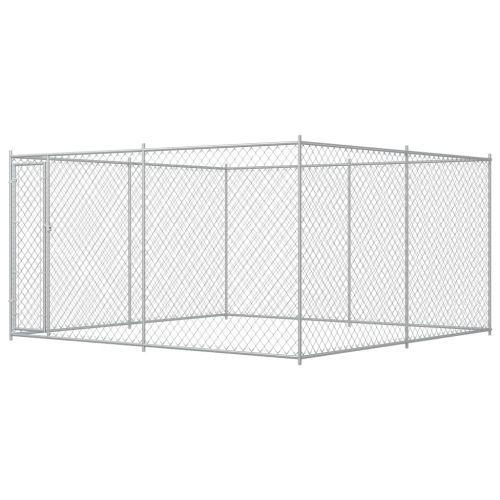 Outdoor Dog Kennel 383x383x185 cm