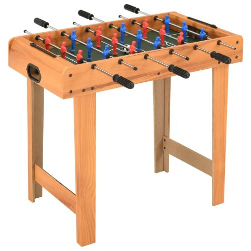 Mini Football Table 69x37x62 cm Maple