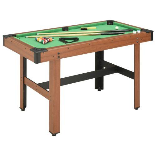 4 Feet Billiard Table 122x61x76 cm Brown