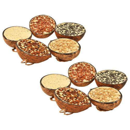 Bird Food filled Coconut Halves 10 pcs 290 g