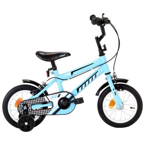 Kids Bike 12 inch Black and Blue