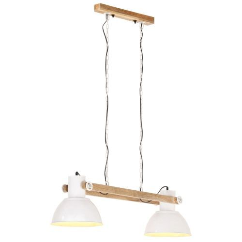 Industrial Hanging Lamp 25 W White 109 cm E27