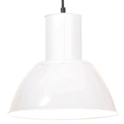 Hanging Lamp 25 W White Round 28.5 cm E27