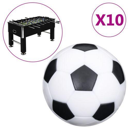 Football Table Balls 10 pcs 32 mm ABS