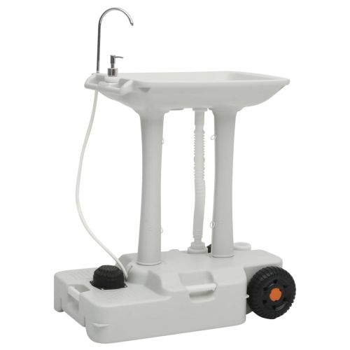 Camping Hand Wash Stand with Dispenser 35 L