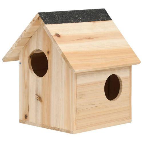 Squirrel House Solid Firwood 26x25x29 cm