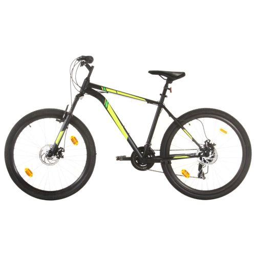 Mountain Bike 21 Speed 27.5 inch Wheel 42 cm Black
