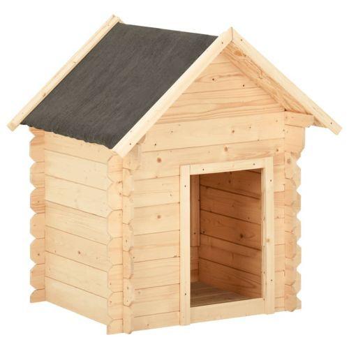 Dog House 150x80x100 cm Solid Pine Wood 14 mm