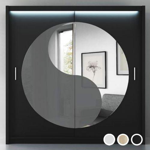 Lotus Yin Yang Luxury Sliding Door Wardrobe