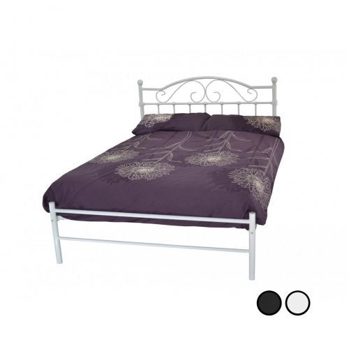 Sussex Classic Metal Bed Frame - Black or White - 4 Sizes