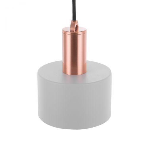 Narce Metal Pendant Lamp - Grey