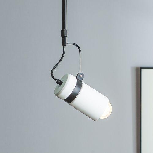 Orca Gypsum Pendant Lamp - White