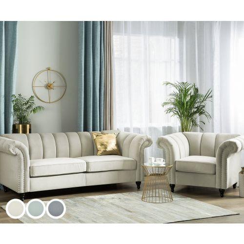 Laselva Fabric Sofa Set - 3 Colours